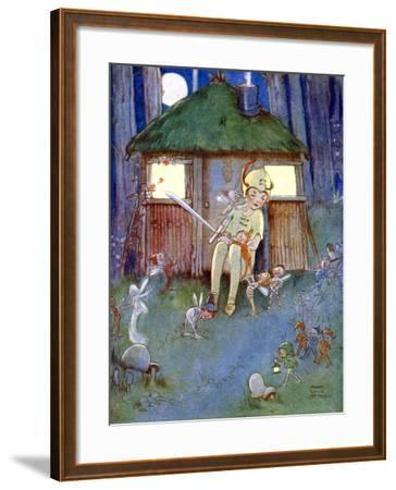Peter Kept Watch--Framed Giclee Print