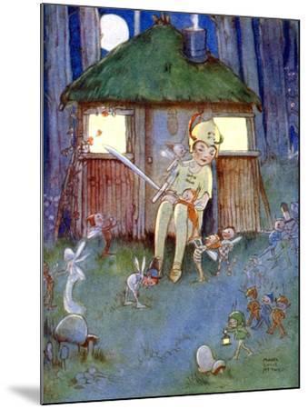 Peter Kept Watch--Mounted Giclee Print