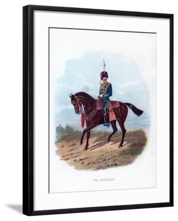 7th Hussars, 1889--Framed Giclee Print