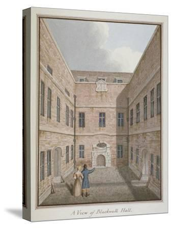 Blackwell Hall, City of London, 1819--Stretched Canvas Print
