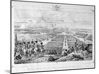 Distribution of the Crosses of the Legion of Honor at the Camp of Boulogne, 16 August 1804, 1841--Mounted Giclee Print