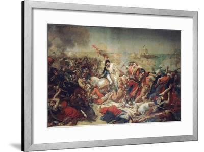 Battle of Aboukir, 25 July 1799, 1806-Antoine-Jean Gros-Framed Giclee Print