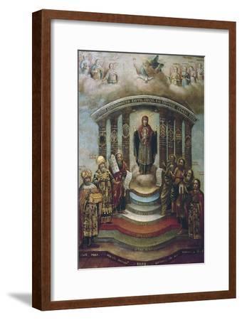 Sophia, the Holy Wisdom, 1812--Framed Giclee Print
