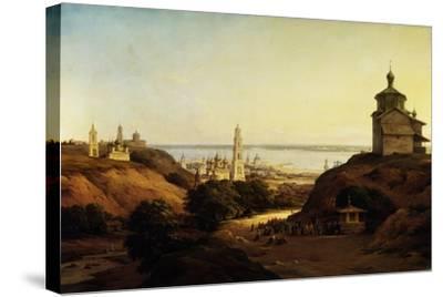 View of Yuryev-Povolzhsky, 1851-Nikanor Grigoryevich Chernetsov-Stretched Canvas Print