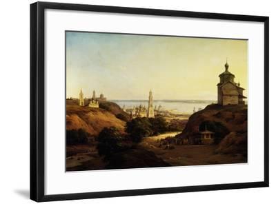 View of Yuryev-Povolzhsky, 1851-Nikanor Grigoryevich Chernetsov-Framed Giclee Print