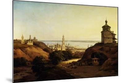 View of Yuryev-Povolzhsky, 1851-Nikanor Grigoryevich Chernetsov-Mounted Giclee Print