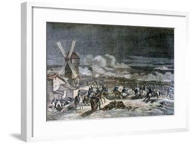 Battle of Valmy, 20th September 1792-Horace Vernet-Framed Giclee Print
