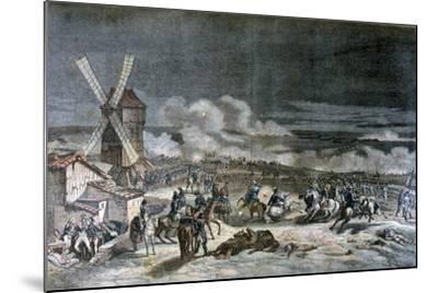 Battle of Valmy, 20th September 1792-Horace Vernet-Mounted Giclee Print