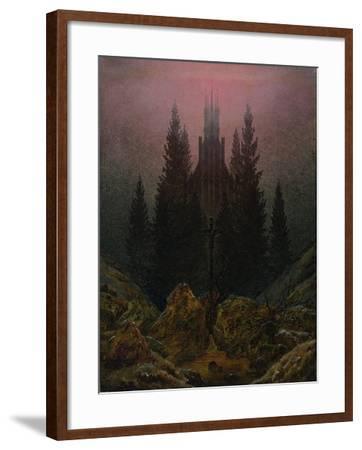 The Cross in the Mountains, Ca 1812-Caspar David Friedrich-Framed Giclee Print