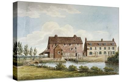 Colham Mills, Hillingdon, Middlesex, C1820--Stretched Canvas Print