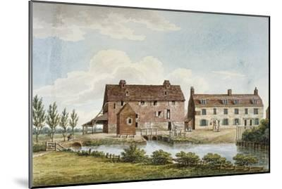 Colham Mills, Hillingdon, Middlesex, C1820--Mounted Giclee Print