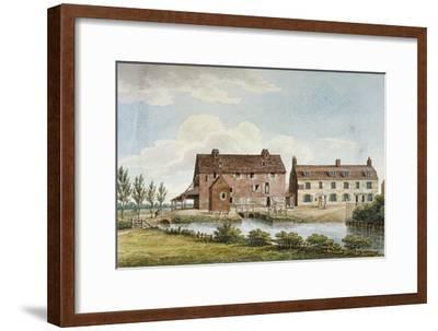 Colham Mills, Hillingdon, Middlesex, C1820--Framed Giclee Print