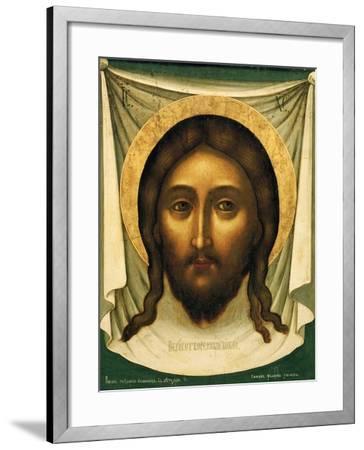 Holy Mandylion (The Vernicl), 1658-Simon Ushakov-Framed Giclee Print