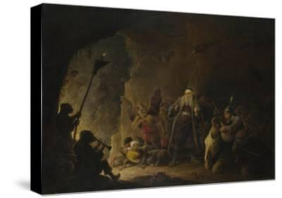 The Rich Man Being Led to Hell, C. 1647-1648-David Teniers the Younger-Stretched Canvas Print