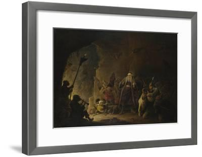 The Rich Man Being Led to Hell, C. 1647-1648-David Teniers the Younger-Framed Giclee Print