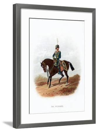 3rd Hussars, 1889--Framed Giclee Print