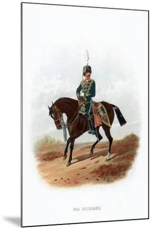 3rd Hussars, 1889--Mounted Giclee Print
