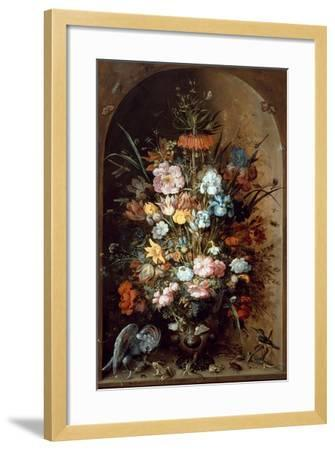 Flower Still Life with Crown Imperial, 1624-Roelant Savery-Framed Giclee Print