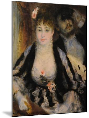 La Loge (The Theatre Bo), 1874-Pierre-Auguste Renoir-Mounted Giclee Print