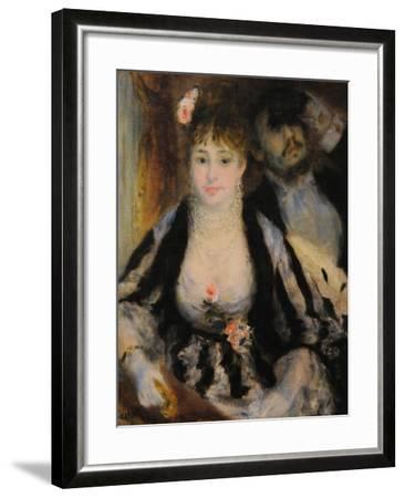 La Loge (The Theatre Bo), 1874-Pierre-Auguste Renoir-Framed Giclee Print