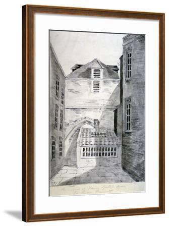 Church of St Alfege, London Wall, London, 1805--Framed Giclee Print