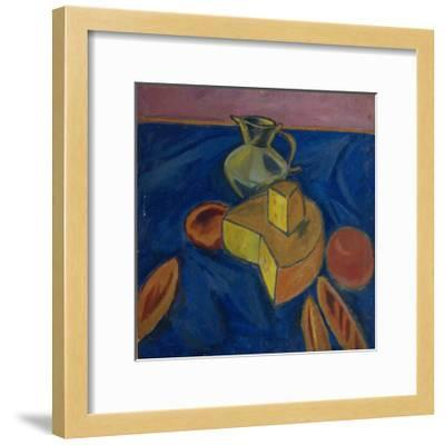 Still Life with Cheese, 1910-Alexander Vassilyevich Kuprin-Framed Giclee Print