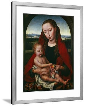 The Virgin and Child, 1480-1490-Hans Memling-Framed Giclee Print