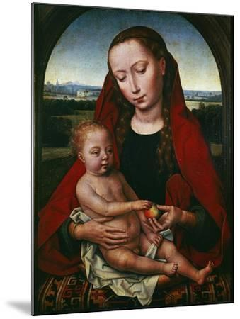 The Virgin and Child, 1480-1490-Hans Memling-Mounted Giclee Print