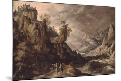 Landscape with Tobias and the Angel-Kerstiaen de Keuninck-Mounted Giclee Print