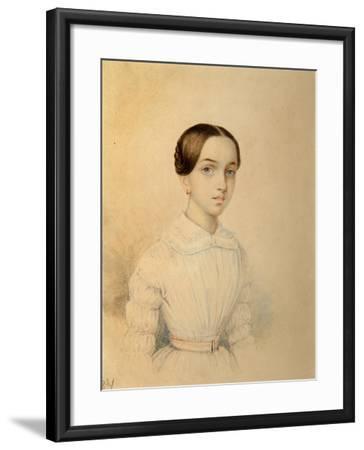 Portrait of O.A. Rehbinder--Framed Giclee Print