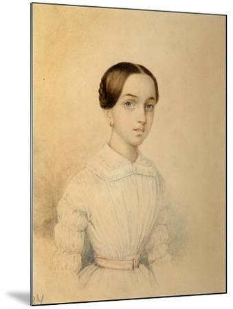 Portrait of O.A. Rehbinder--Mounted Giclee Print