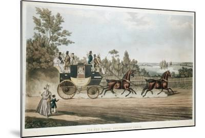 The Red Rover, Southampton Coach, C1815--Mounted Giclee Print