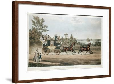 The Red Rover, Southampton Coach, C1815--Framed Giclee Print