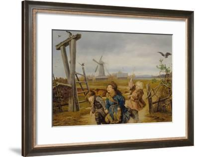 Troika, 1860-Andrei Andreyevich Popov-Framed Giclee Print