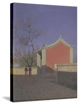Meeting House of the Solons in Akh-Kent-Vasili Vasilyevich Vereshchagin-Stretched Canvas Print