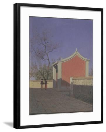 Meeting House of the Solons in Akh-Kent-Vasili Vasilyevich Vereshchagin-Framed Giclee Print