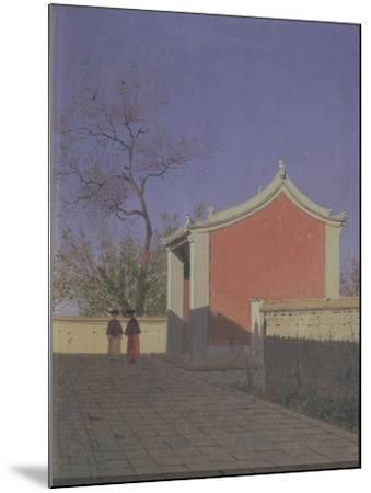 Meeting House of the Solons in Akh-Kent-Vasili Vasilyevich Vereshchagin-Mounted Giclee Print