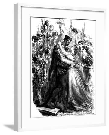 Scene from Shakespeare's Othello, 19th Century--Framed Giclee Print