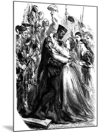 Scene from Shakespeare's Othello, 19th Century--Mounted Giclee Print
