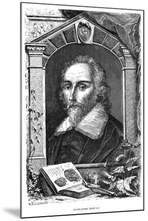 William Harvey (1578-165) English Physician, C17th Century--Mounted Giclee Print