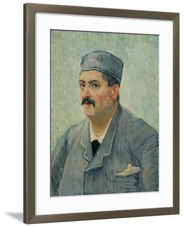 Portrait of Etienne-Lucien Martin, 1887-Vincent van Gogh-Framed Giclee Print