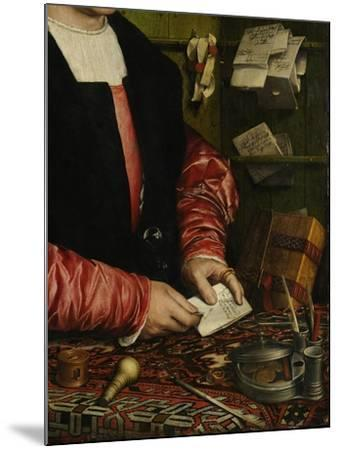 The Merchant Georg Gisze (Detail), 1532-Hans Holbein the Younger-Mounted Giclee Print