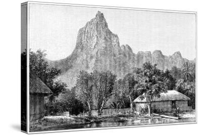View of Tahiti, 1898--Stretched Canvas Print