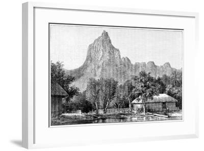 View of Tahiti, 1898--Framed Giclee Print