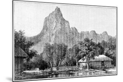 View of Tahiti, 1898--Mounted Giclee Print