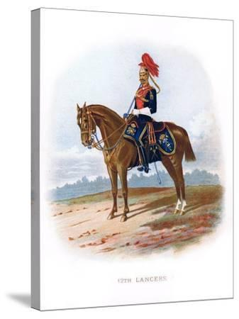 12th Lancers, 1889--Stretched Canvas Print