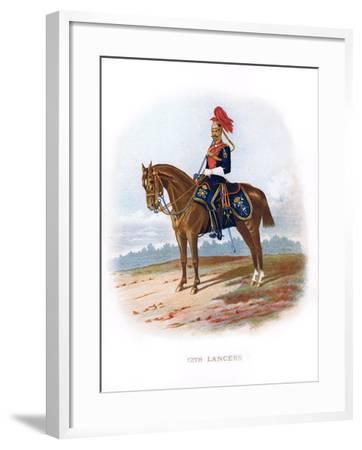 12th Lancers, 1889--Framed Giclee Print