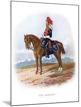 12th Lancers, 1889--Mounted Giclee Print
