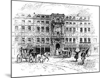 The Old Mercers Hall, London, 1909--Mounted Giclee Print