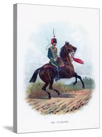 8th Hussars, 1889--Stretched Canvas Print